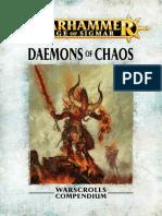Warhammer Aos Daemons of Chaos En