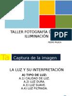 Taller Fotografía Digital Iluminación