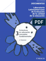 Estándares en Educación(1997)
