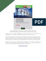 EBOOK Energie éolienne – Du petit éolien à l'éolien off shore.doc