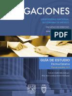Derecho Obligaciones 4 Semestre