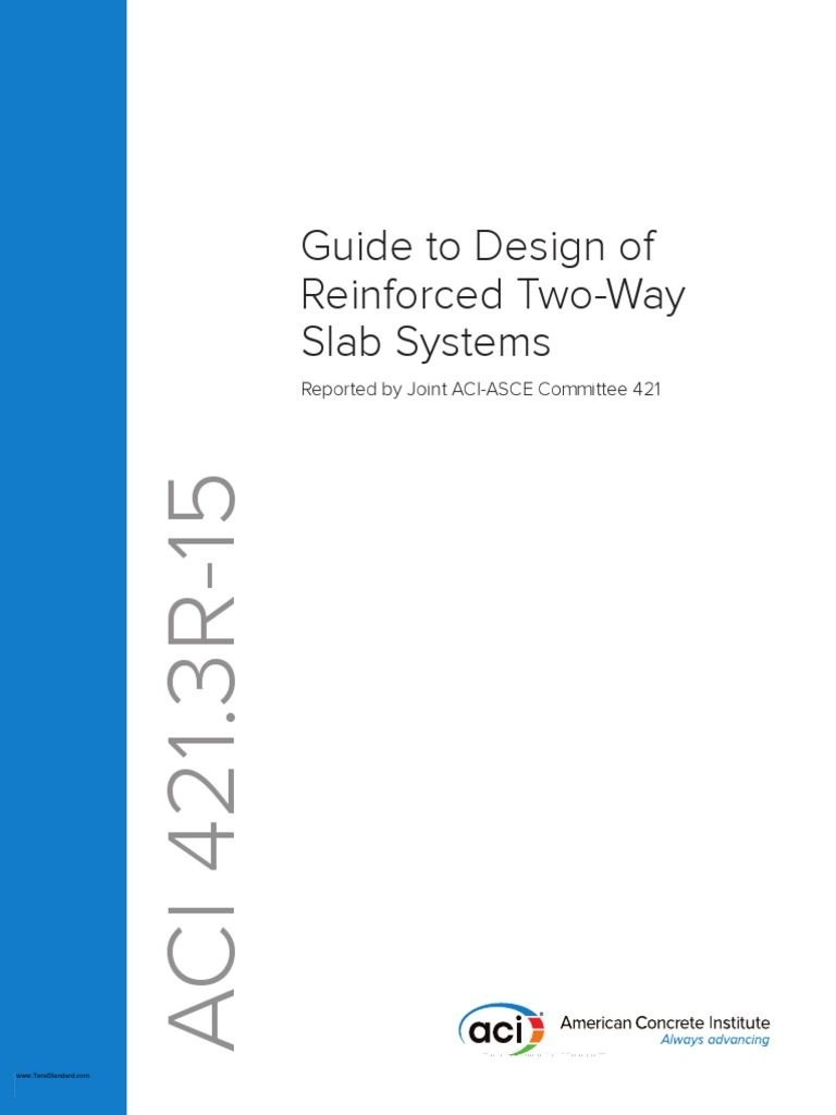 Aci 4213r 15 guide to design of reinforced two way slab systems aci 4213r 15 guide to design of reinforced two way slab systems beam structure prestressed concrete fandeluxe Images
