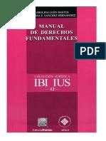 Manual de Derechos Fundamentales de Carolina León Bastos y Claudia Eugenia Sánchez Hernández