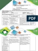 Guía de Actividades Unidad 1 Etapa 1 Fundamentos de Epidemiologia Ambiental