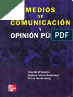 Medios de Comunicación y Opinión Pública