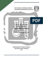 Manual Química Orgánica I IQ QOI 2017-II