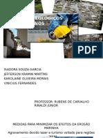 Trabalho Acidentes Geológicos (Escola de Minas- Itapeva São Paulo, Martins. J. K.)