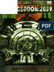 Armageddon 2089 - Main Rulebook