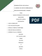 Proyecto de Legislación Laboral