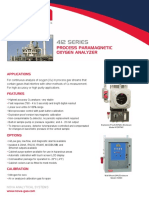 412 Process O2 by Paramagnetic Analyzer