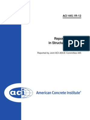 ACI 445.1R-12: Report on Torsion in Structural Concrete
