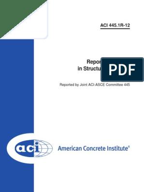 ACI 445.1R-12: Report on Torsion in Structural Concrete