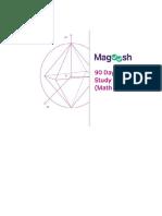 Magoosh GRE 90 Day GRE Study Plan Math Focused V3 June 2015