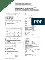 Evaluacion Prueba Saber 7 Matematicas Noviembre 2013
