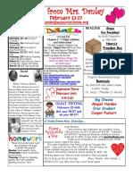 newsletter february 13-17