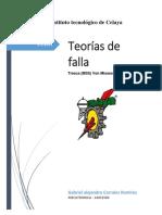 Diseño de Elementos Mecanicos TIPOS DE FALLAS