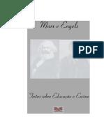 Marx e Engels Textos Sobre Educacao e Ensino1