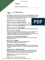 PATRIMONIO _Antecedentes