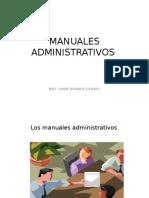 Clase 14 Manuales Administrativos