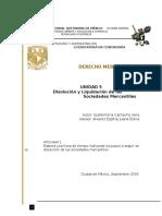 Unidad 5. Disolución y Liquidación Sociedades - Actividad 1