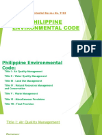 Philippine Environmental Code 2
