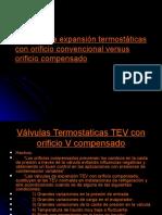Valvulas de Expansion Termostaticas Con Orificio Convencional