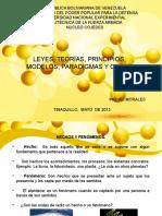 Leyes Teorías y Modelos