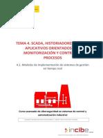 4.1 Modelos de Implementación de Sistemas de Gestión en Tiempo Real
