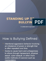 standing up to bullying