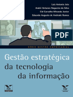 Gestao Estrategica Da Tecnologia Da Informacao