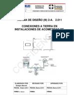 (III) 2-A Conexiones a Tierra en Instalaciones de Acometidas BT