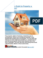 Sri Lanka  Is Right to Property a Human Right.docx