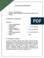 Obtencion Del Nitrobenceno