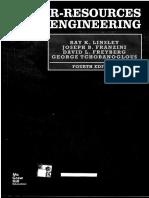 Water-Resources Engineering - Parte 1