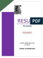 Resume Renag