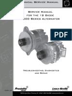Leece Neville 4000 Series Alternator service manual
