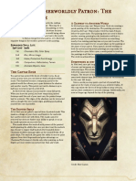 The Homebrewery - Warlock Otherworldly Patron - The Painted Maze