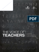The Voice of Teachers