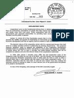 SB 0305 Amending CDA Charter