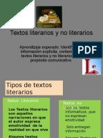Textos literarios y no literarios.ppt