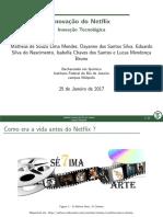 Inovação Tecnologica - NETFLIX