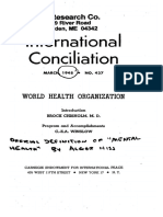 International Conciliation Winslow Chisolm Carnegie WHO 1948 8pgs PSY.sml