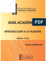 Introduccion a La Filosofia