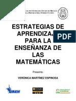 Ensayo - Estrategias de Aprendizaje Para La Enseñanza de Las Matemáticas