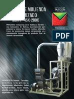 Modulo de Molienda y Tamizado Mdmt-45x-200x