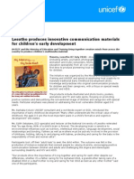 ECD Communication Material Development 02.07.10
