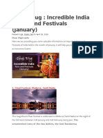 Incredible India – Fairs and Festivals.docx