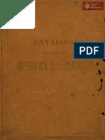 Catálogo de los objetos que la República del Paraguay exhibe en la Exposición Universal de Barcelona. Año 1888
