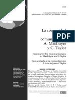 Artigo - Comunidad para los comunitaristas.pdf