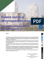 Habitat Social Et Devellopement Pr Renouvellement Urbain